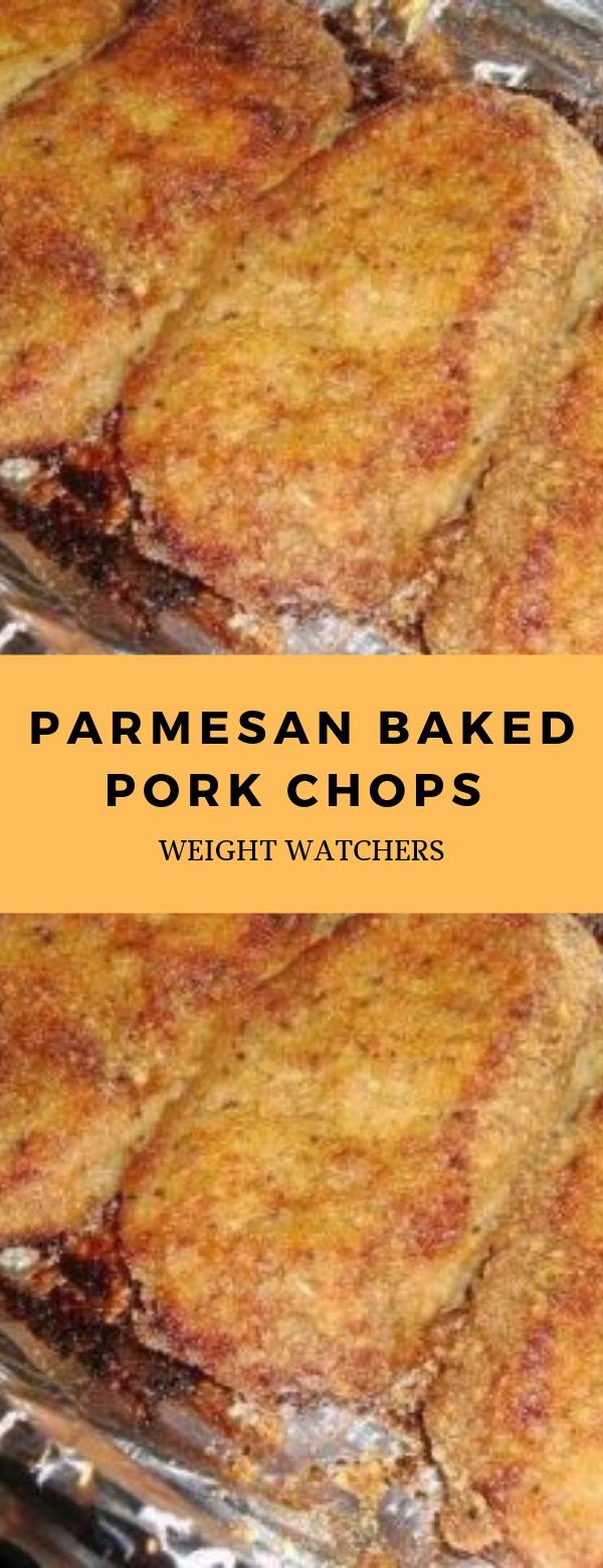 Weight Watchers Parmesan Baked Pork Chops #parmesan #weightwatchers #porkchops