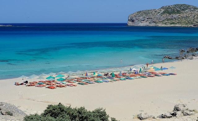 Praia Falassarna, Creta