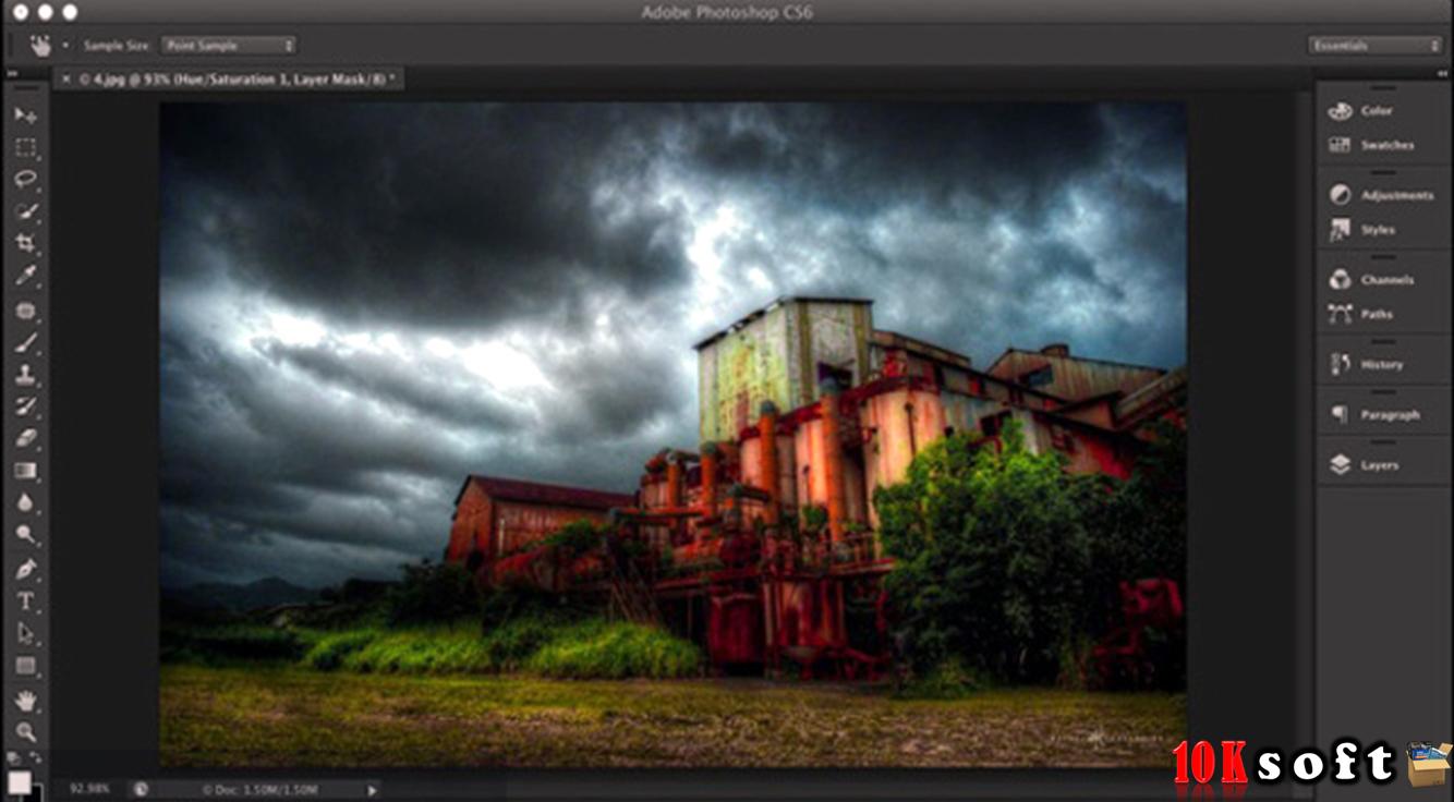 Adobe Photoshop CS6 Extended Setup Free Download
