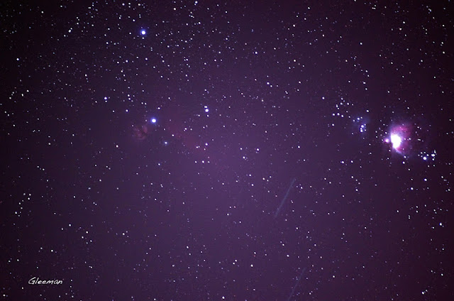 Pentax K5 + O-GPS1 LPS-P2 filter / 火焰星雲NGC2024(30'x30'),馬頭星雲(Horsehead, 6'x4'),以及獵戶座M42大星雲