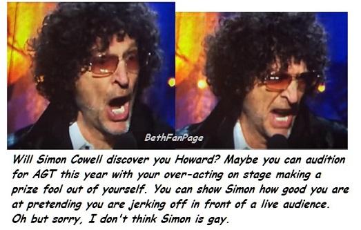 jerk special off sterns Howard