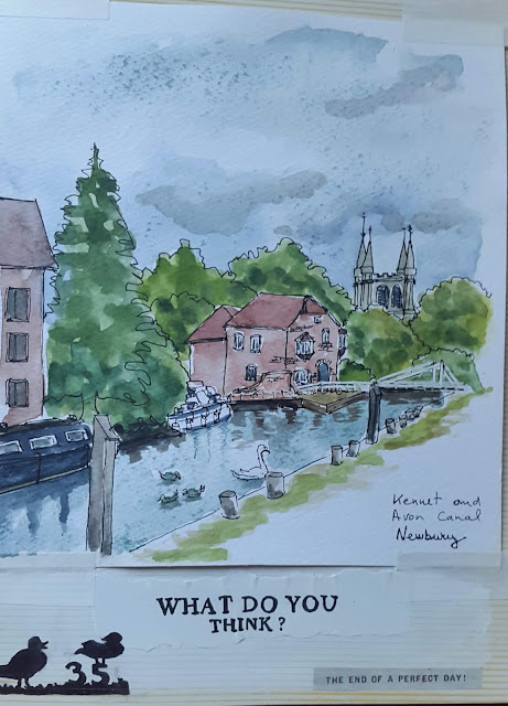 Kennet & Avon canal Newbury