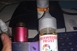 Review Liquid Strawberrry Frost Artic by Bogo Liquid