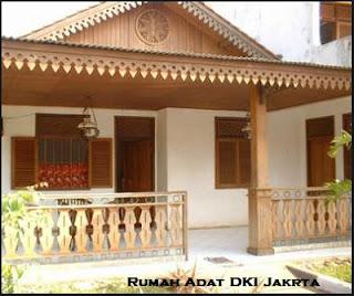 Desain Bentuk Rumah Adat DKI Jakarta dan Penjelasannya, Rumah Adat Kebaya