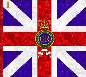 1st Regiment of Foot (The Royal Regiment) Kings Colour