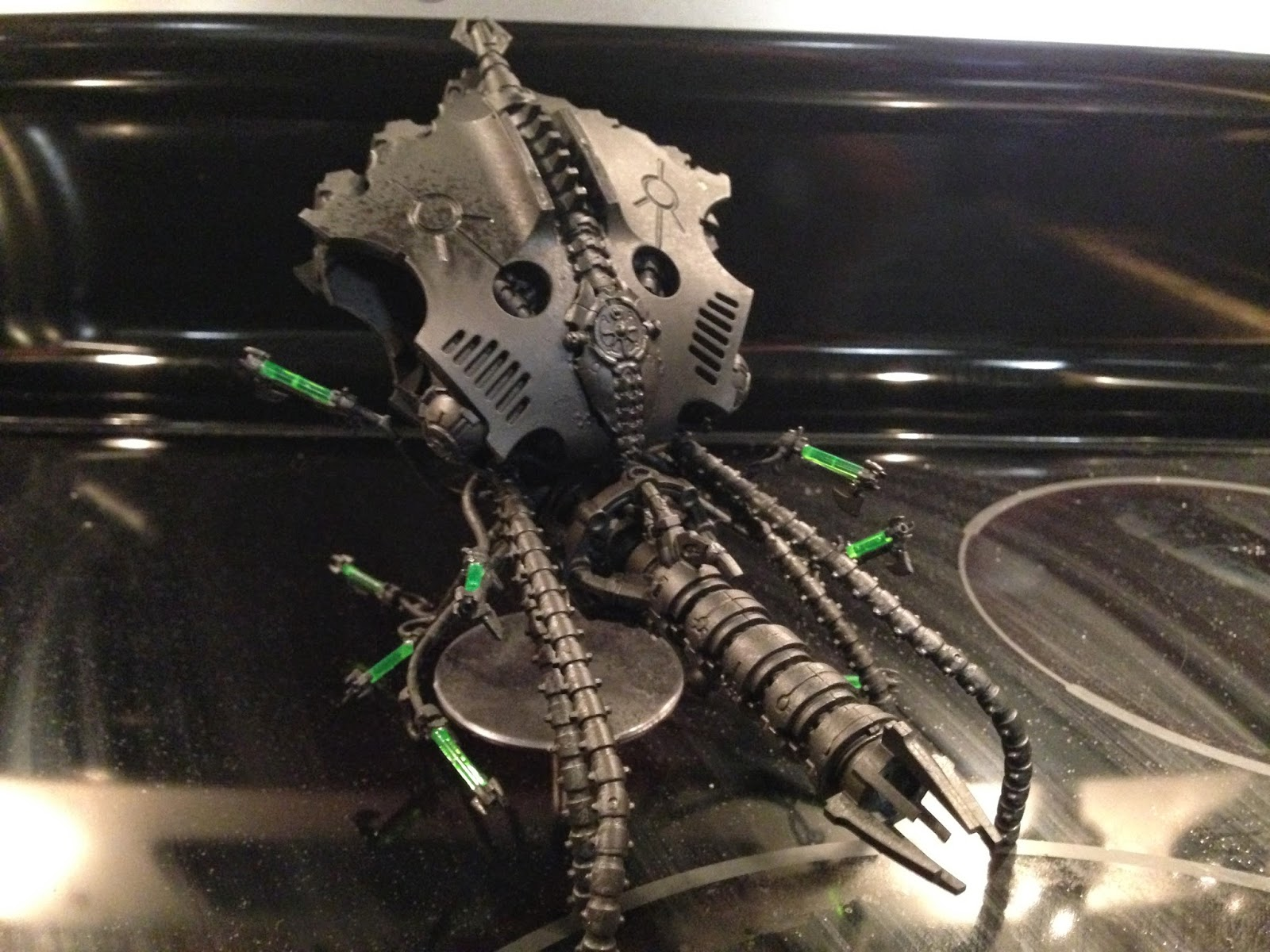 Kutlakh and the Necrons: Canoptek Conversion - The Kraken