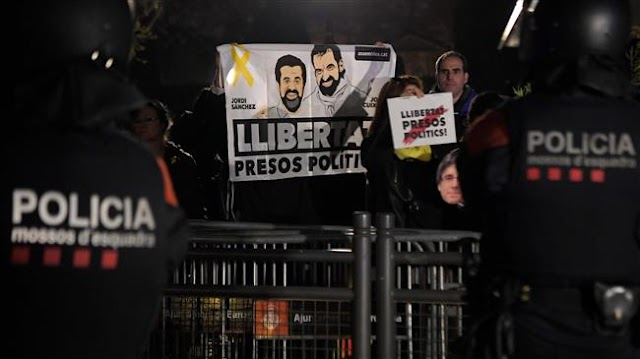 Three jailed Spain's Catalan leaders appeal to UN panel over 'unlawful' imprisonment