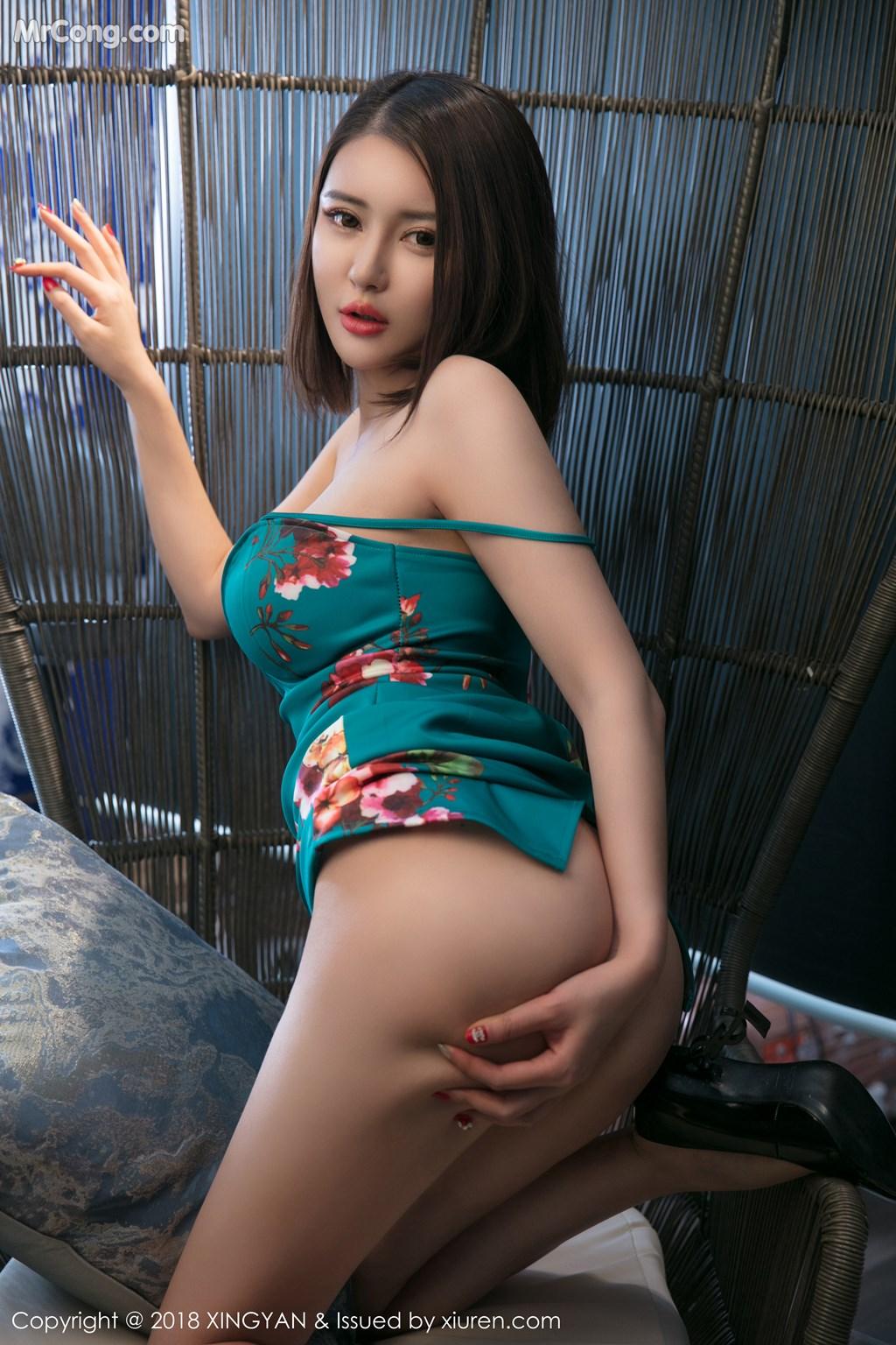 Image XingYan-Vol.028-MrCong.com-037 in post XingYan Vol.028: Người mẫu 廿十 (41 ảnh)