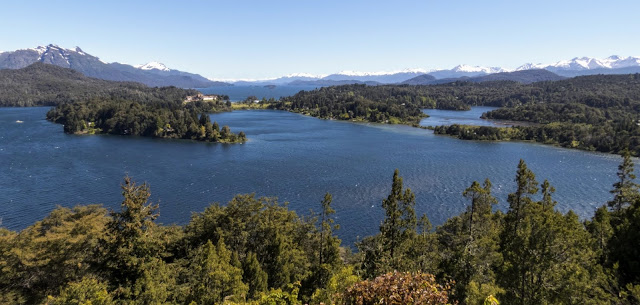 Patagonia 2 Week Itinerary: View from Circuito Chico in Bariloche Argentina
