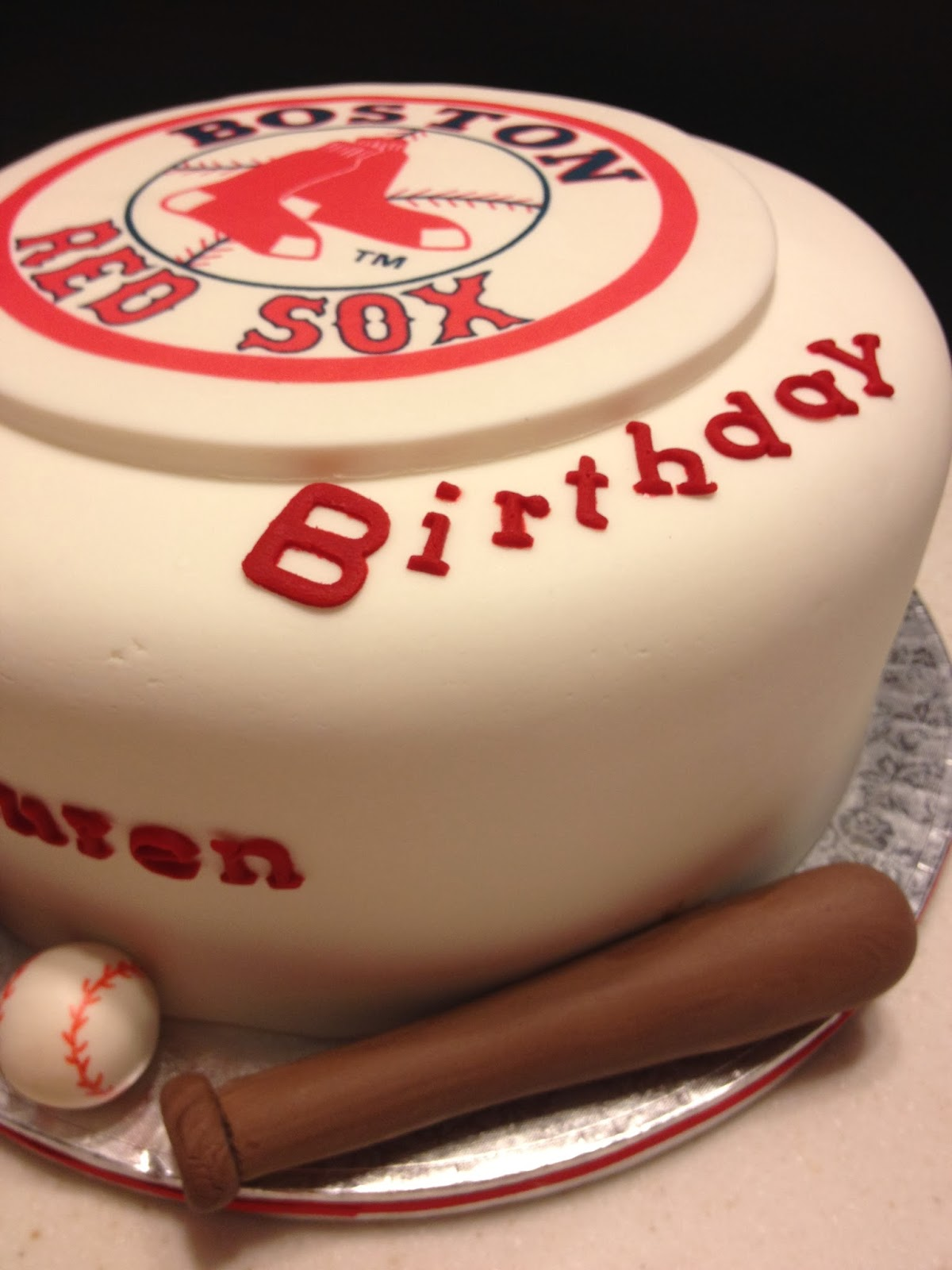 Happy Birthday Cake Boston Bruins
