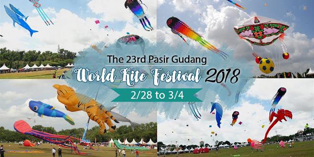 Festival Layang-layang 2018 -28 Februari - 4 mac 2018
