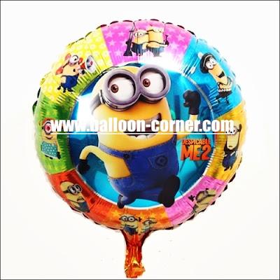 Balon Foil Bulat MINION