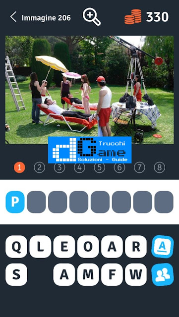 Soluzioni 1 Immagine 8 Parole soluzione livello 201-210
