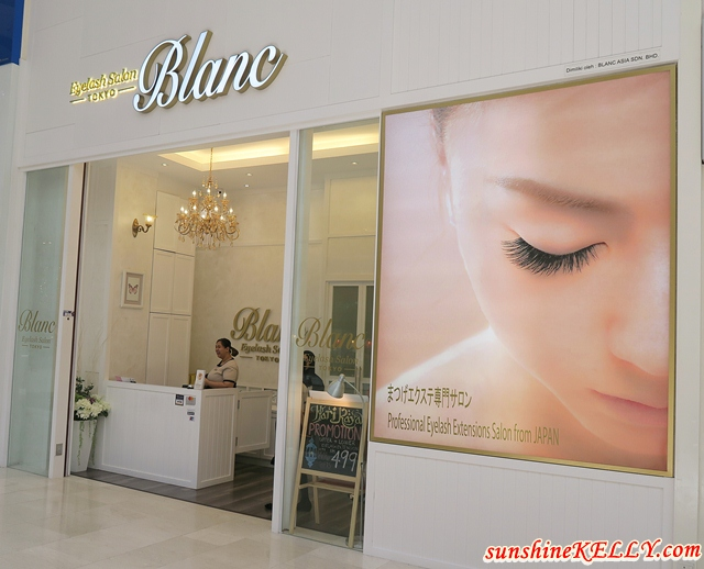 Luschious Eyelashes from Blanc Eyelash Salon