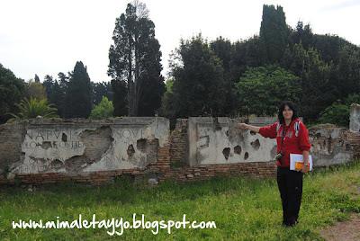 Entrada a Ostia Antica