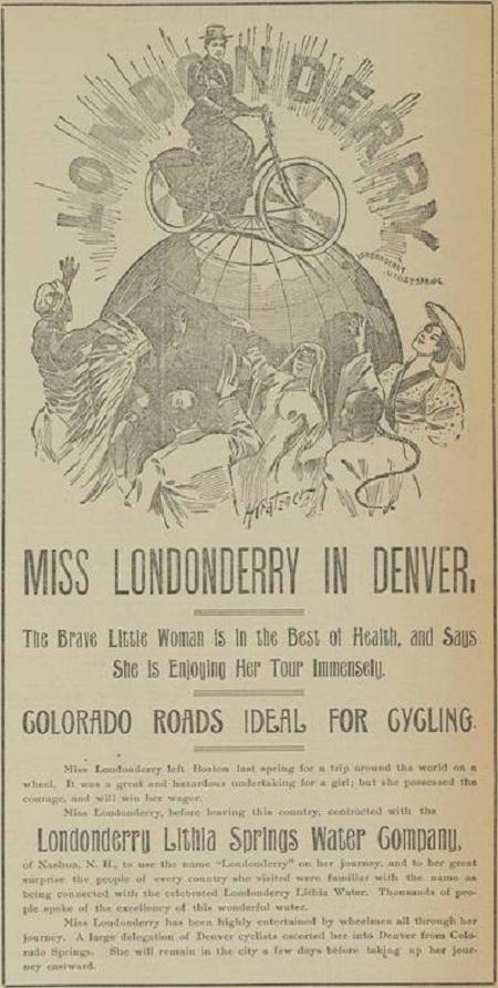 Anuncio de Annie Londonderry en Denver