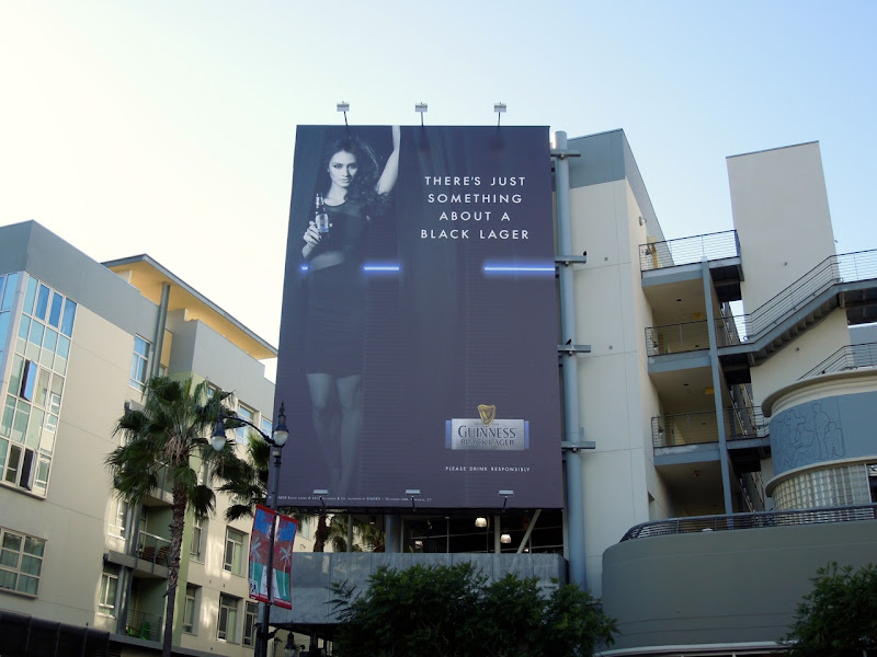 Guiness Black Lager billboard