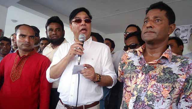 Roads to demand Khaleda Zia release in Dewanganj