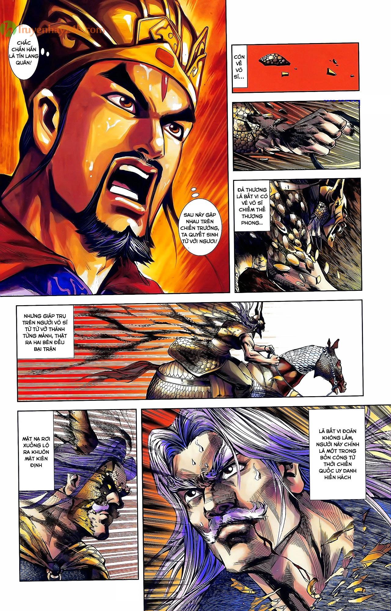 Tần Vương Doanh Chính chapter 31 trang 15
