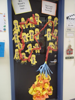 Mrs. Wood's Kindergarten Class: Red Ribbon Week Door ...