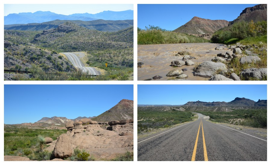 Sur la route de Big Bend State Park