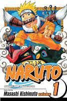 Naruto Vol. 1 by Masashi Kishimoto.
