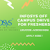 Infosys Off Campus Drive For Freshers | Event Across India | Freshers 2018/17/16/15