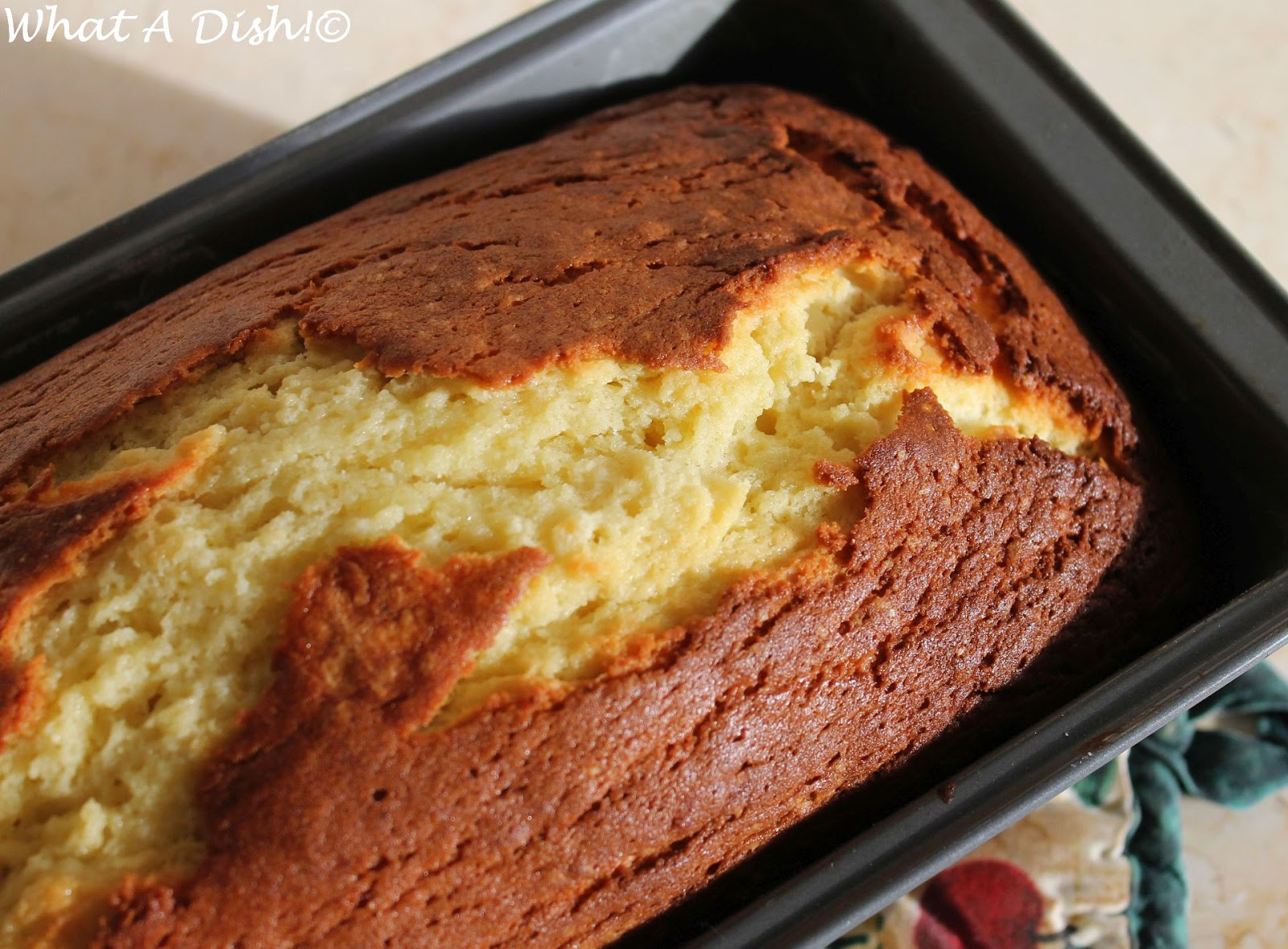 What A Dish Joy The Baker S Cream Cheese Pound Cake