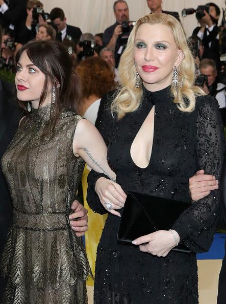Courtney Love with Black Cltuch