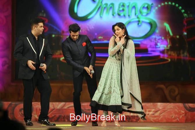 Katrina Kaif, Karan Johar, Manish Paul, Katrina,  Shah Rukh, Priyanka, Deepika At Umang 2015