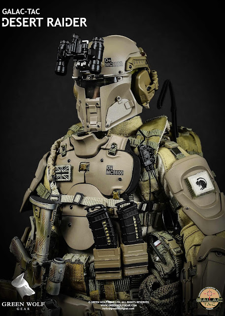osw.zone New from Green Wolf: GWG-004 1/6 scale Galac-Tac Desert Raider 12 inch figures preview