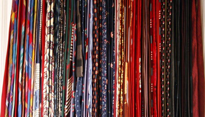 Tie Rack Cross Section