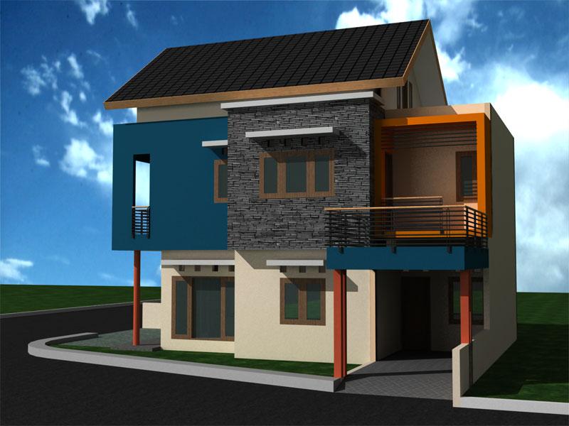 Model Terbaru Rumah Minimalis 2 Lantai Desain Sederhana