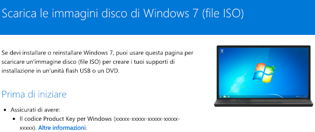 come scaricare windows 7