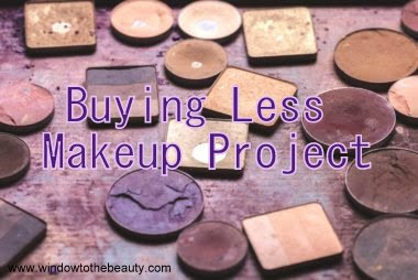 Buying Less Makeup Project