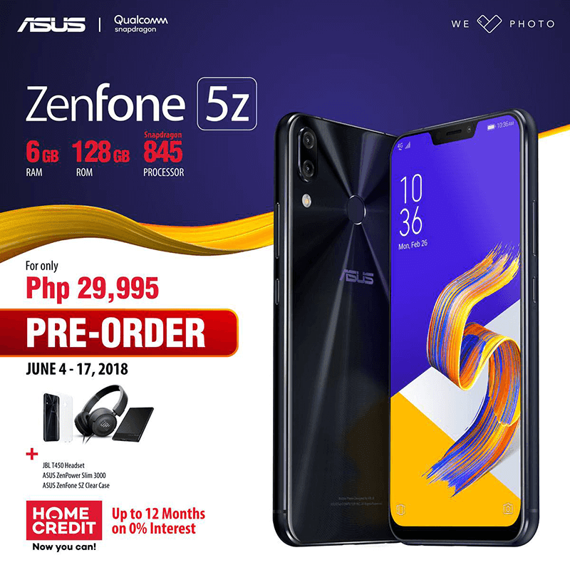 ASUS ZenFone 5Z will be available to pre-order on PH starting June 4!