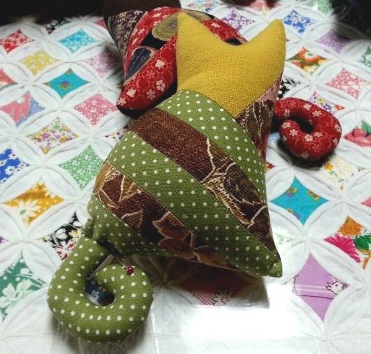 Patchwork Cat Doll pattern. Котята - шьем из ткани
