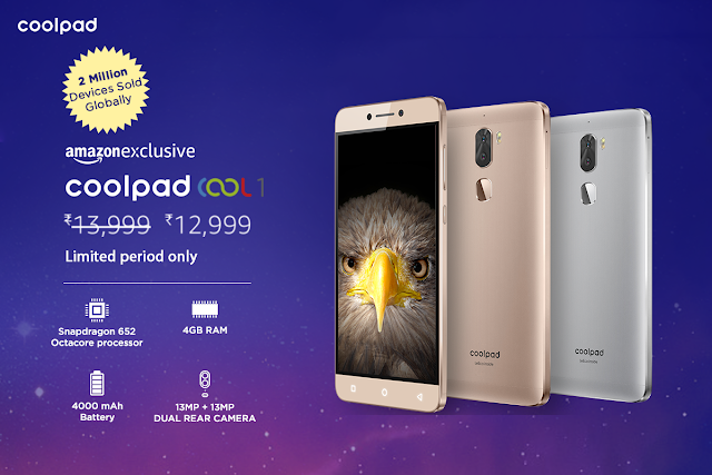 Coolpad Cool 1 Got Price Cut
