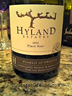 Hyland Estates 2010 Estate Pinot Noir