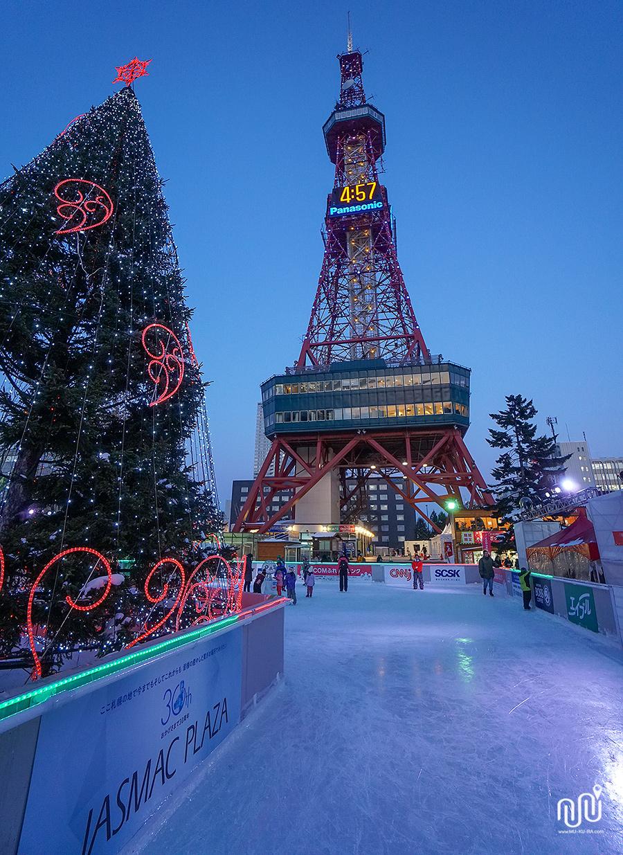 ซัปโปโรทีวีทาวเวอร์ (Sapporo TV Tower)