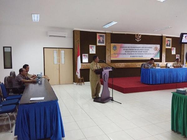 Sosialisasi dan Nota Kesepahaman pencegahan,  pengawasan dan penanganan permasalahan Dana Desa