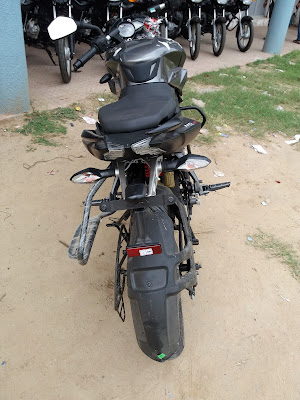 New 2017 Bajaj Pulsar NS160 Rear Image