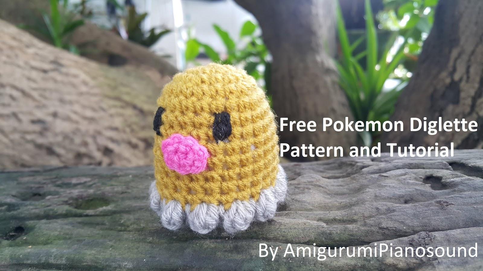 Mini Pokemon Keychain Amigurumi | Etsy | 900x1600