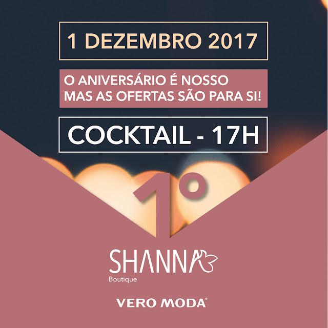 Shanna Boutique - 1º Aniversário