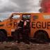 Bandidos explodem carro-forte na BR-304 no RN