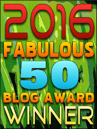 Winner - 2016 Fabulous 50 Blog Awards