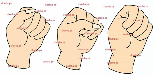 الطريقة التي تغلقون بها قبضة يدكم تعبّر عن شخصيّتكم! ما هي نتيجتكم؟