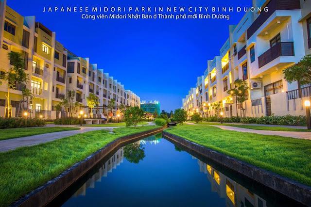 Hình ảnh nhà và cảnh quan MIDORI PARK