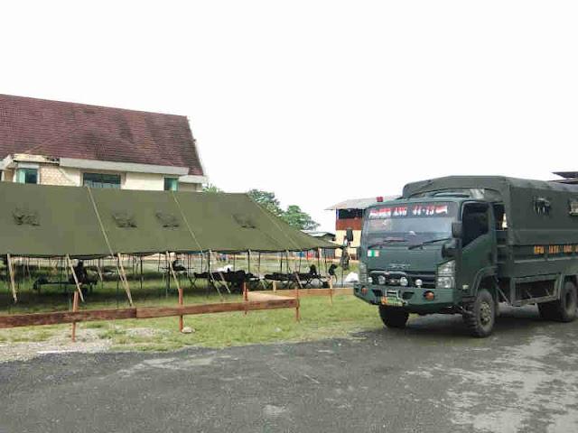 Kodam Cenderawasih Kerahkan Personel dan Alutsista Membantu Bencana Alam di Jayapura