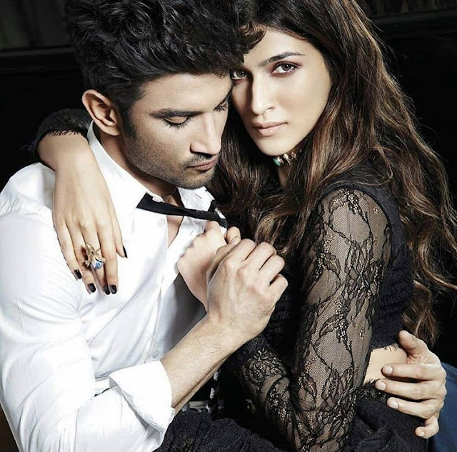 Sushant Singh Rajput, Kriti Sanon Sizzle on the Cover of Filmfare
